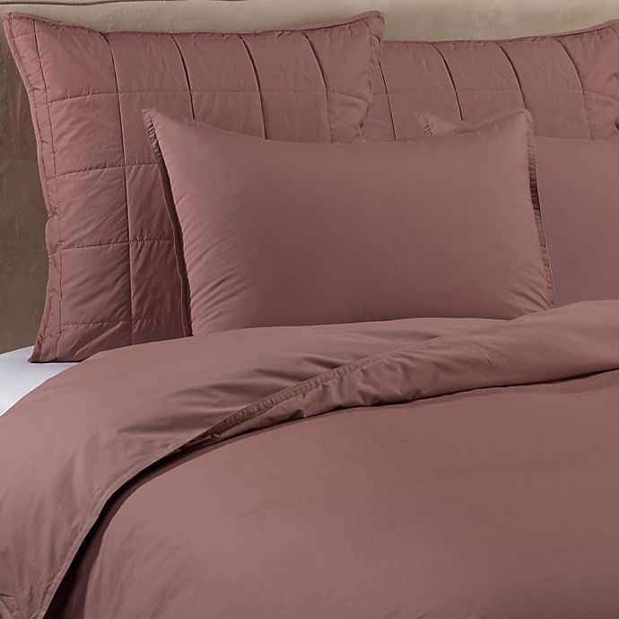Alternate image 1 for Kenneth Cole New York Escape Twin Duvet Cover in Plum