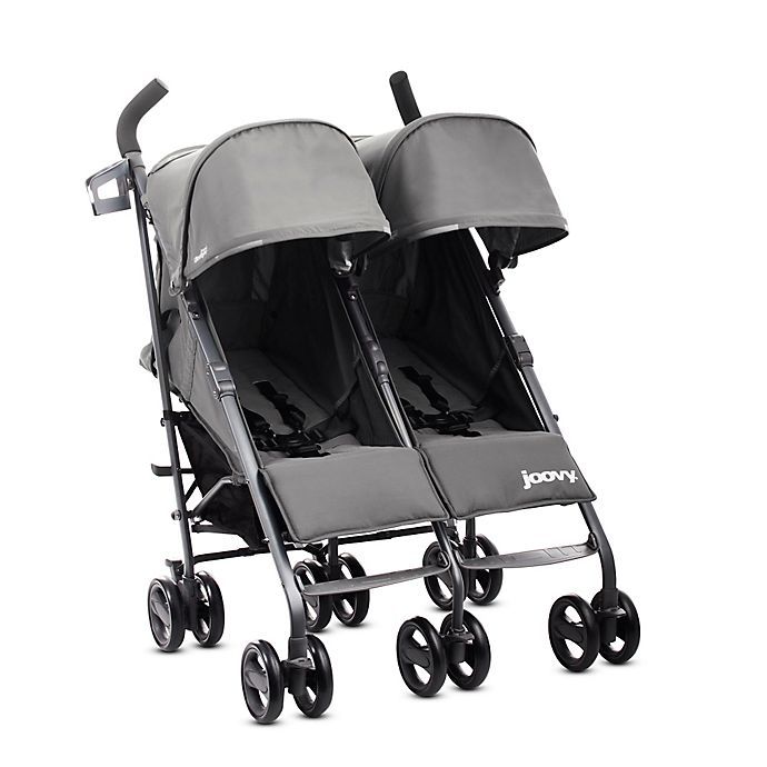 Alternate image 1 for Joovy® Twin Groove Ultralight Umbrella Stroller in Charcoal