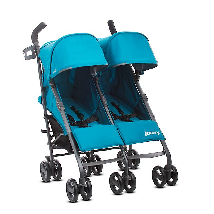 Alternate image 1 for Joovy® Twin Groove Ultralight Umbrella Stroller in Turquoise