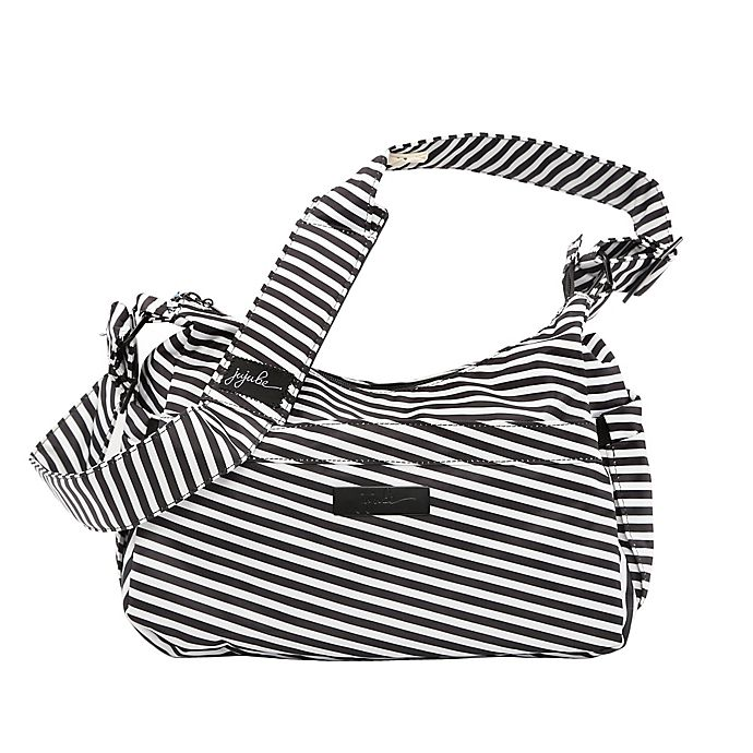 Alternate image 1 for Ju-Ju-Be® Onyx Hobobe Diaper Bag in Black Magic Print