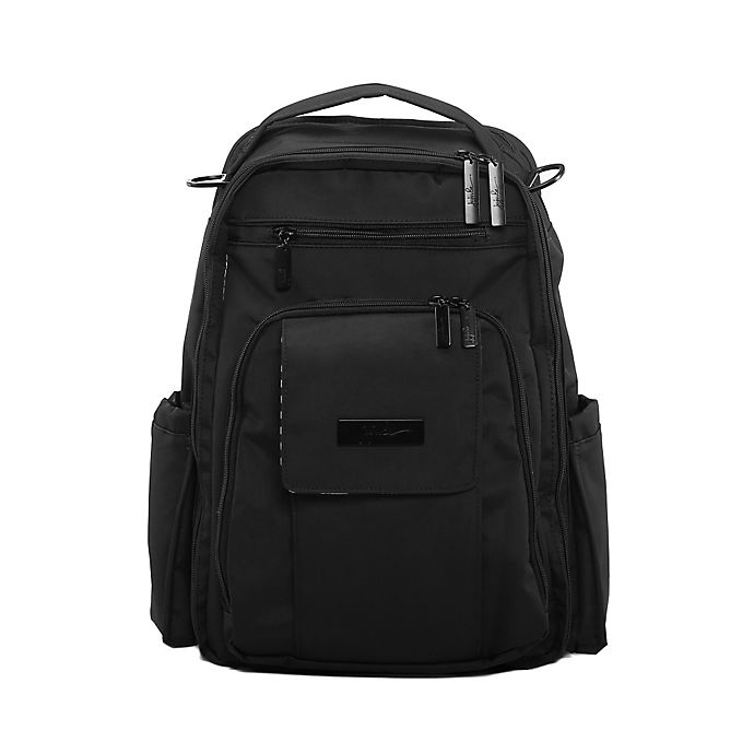 Alternate image 1 for Ju-Ju-Be® Onyx Be Right Back Diaper Bag in Black Out