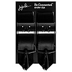 Ju-Ju-Be® Onyx Be Connected Stroller Clips in Black (Set of 2)