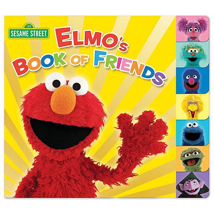 Alternate image 1 for Elmo's Book of Friends by Naomi Kleinberg