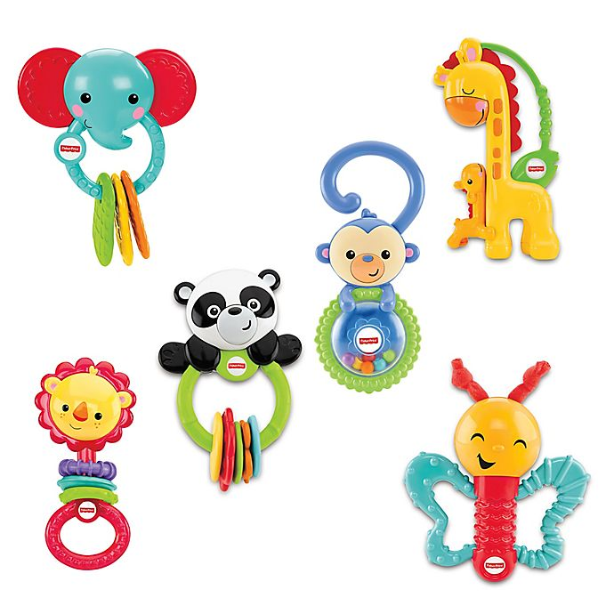 Alternate image 1 for Fisher-Price® Playful Pals Gift Set