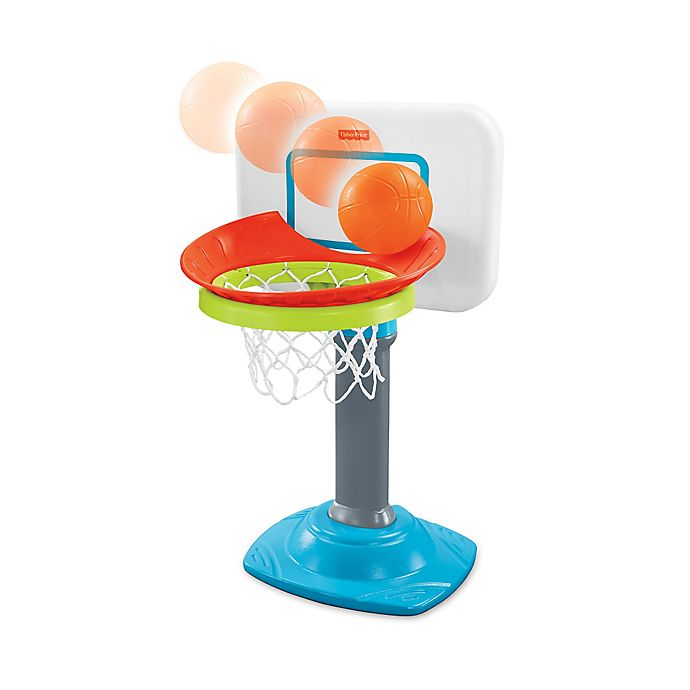 Alternate image 1 for Fisher-Price® Grow To Pro® Junior Basketball