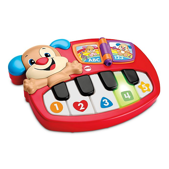 Alternate image 1 for Fisher-Price® Laugh & Learn™ Puppy's Piano