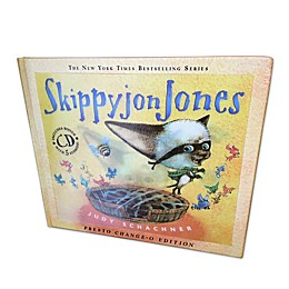 """Skippyjon Jones Presto-Change-O"" Book by Judy Schachner"