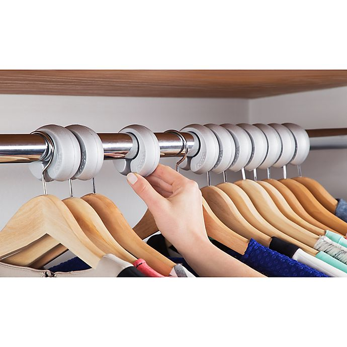 Alternate image 1 for 10-pack Xangar Clothes Hanger Spacers/Organizer System