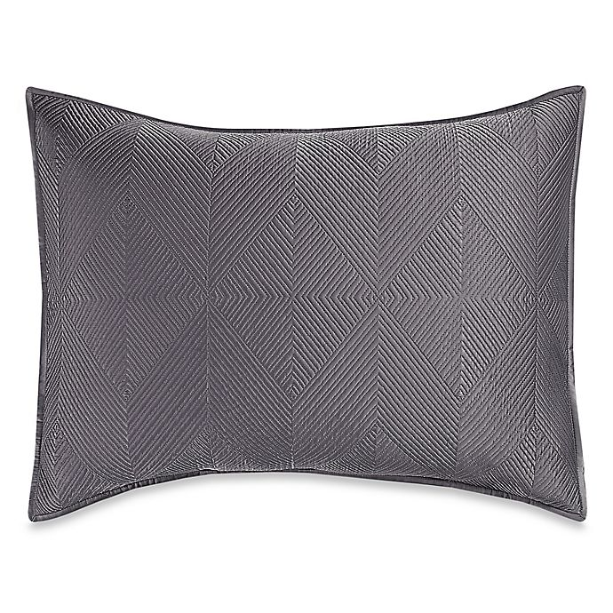 Alternate image 1 for Wamsutta® Bliss Standard Pillow Sham in Frost Grey