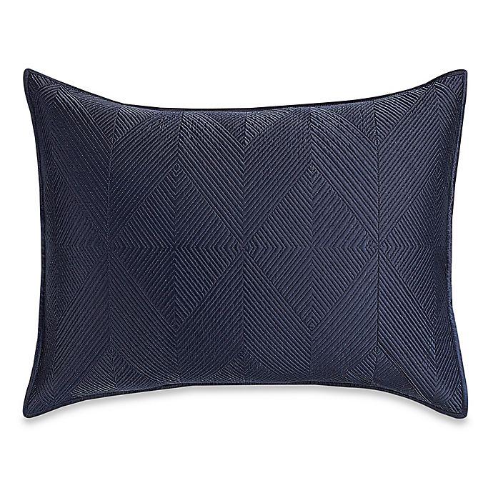 Alternate image 1 for Wamsutta® Bliss Standard Pillow Sham in Navy