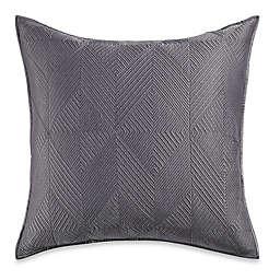 Wamsutta® Bliss European Pillow Sham in Frost Grey