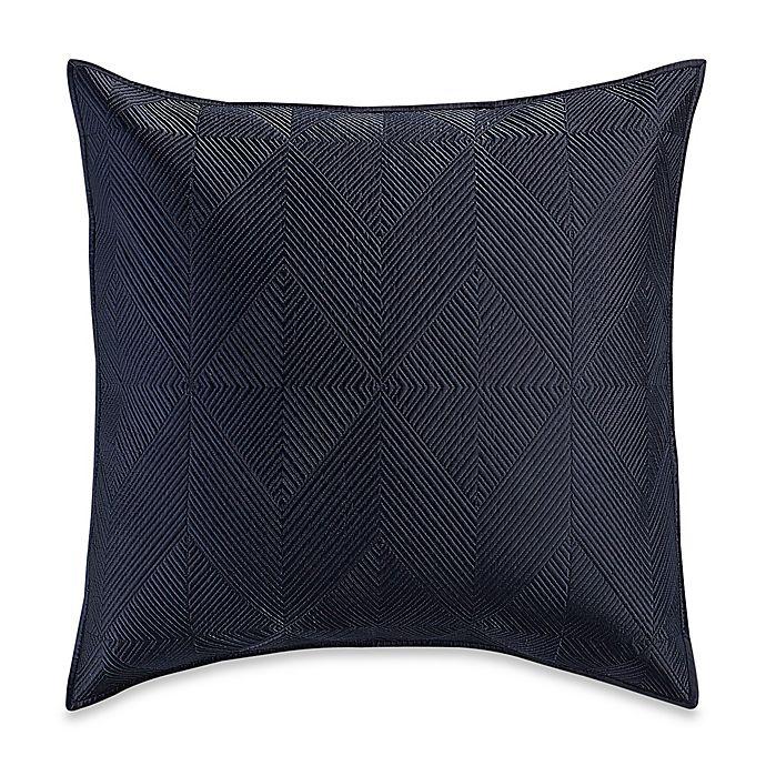 Alternate image 1 for Wamsutta® Bliss European Pillow Sham in Navy