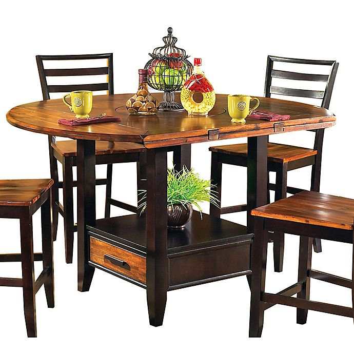 Steve Silver Co. Abaco Double Counter Height Dining Table in ...