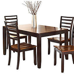 Steve Silver Co. Abaco Butterfly Dining Table in Cherry