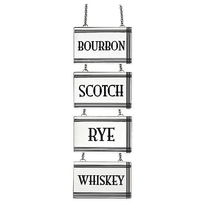 Alternate image 1 for Top Shelf Liquor Label/Decanter Tag (Set of 4)