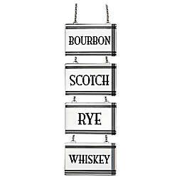 Top Shelf Liquor Label/Decanter Tag (Set of 4)
