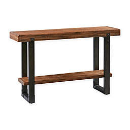 Madison Park Dayton Console Table in Chestnut