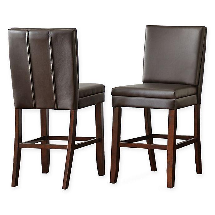 Superb Steve Silver Co Bennett Counter Stools Set Of 2 Bed Ibusinesslaw Wood Chair Design Ideas Ibusinesslaworg