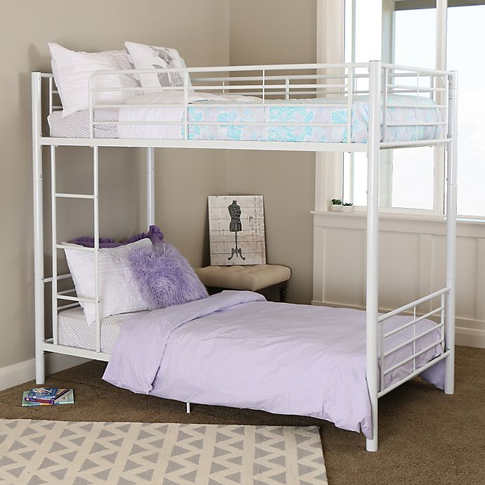 Alternate image 1 for Forest Gate Riley Twin Metal Bunk Bed