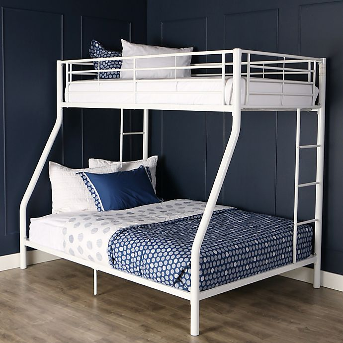 Alternate image 1 for Forest Gate Riley Twin over Full Metal Bunk Bed