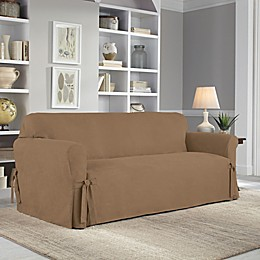 Perfect Fit® Smooth Suede Relaxed Fit Slipcover Collection