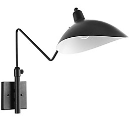 Modway View Wall Lamp in Black