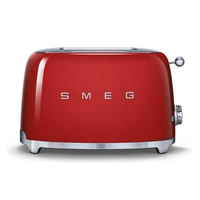 Smeg 50's Retro Style 2 Slice Toaster In Polished Stainless by Bed Bath And Beyond