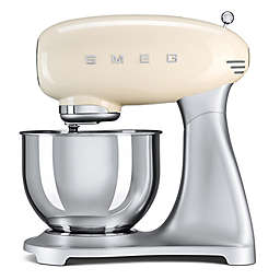 SMEG 50's Retro Style 5-Quart Stand Mixer with Stainless Steel Bowl
