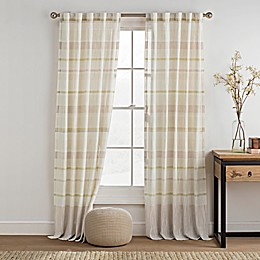 KAS ROOM Logan Rod Pocket Back Tab Window Curtain Panel