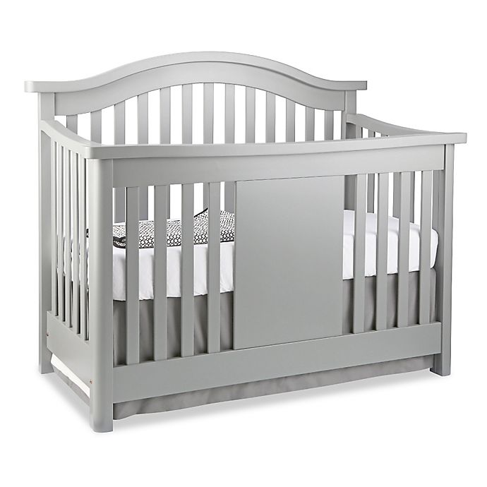 Alternate image 1 for Baby Appleseed® Stratford 4-in-1 Convertible Crib in Moon Grey