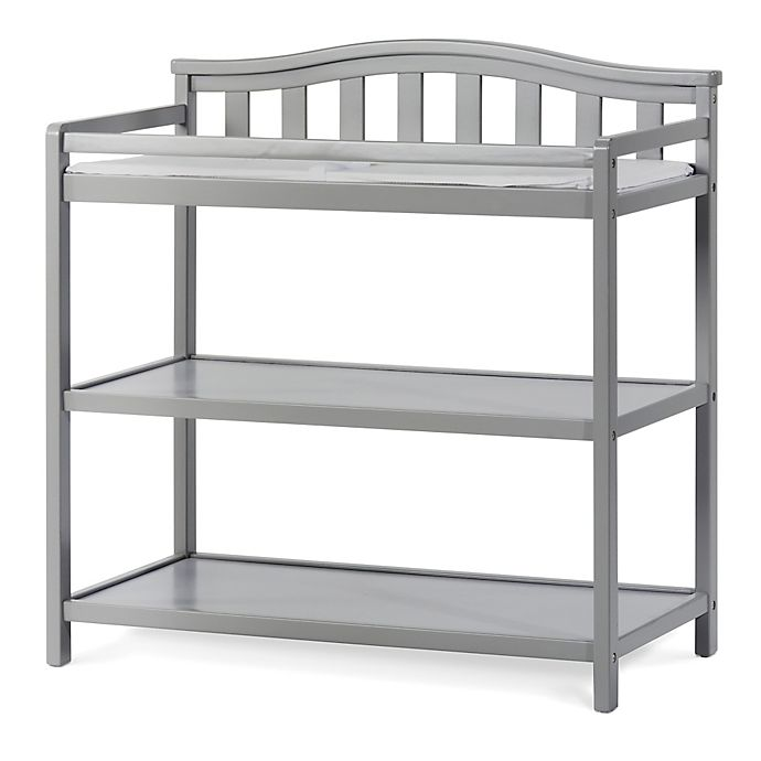 Child Craft Camden Camden Dressing Table In Cool Grey