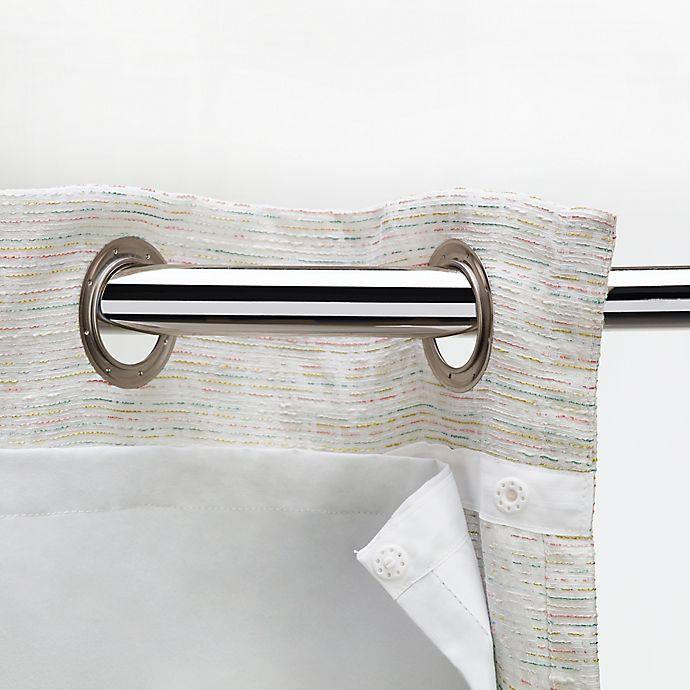 Alternate image 1 for Sharper Image® 89-Inch Insulating Snap-In Liner in White