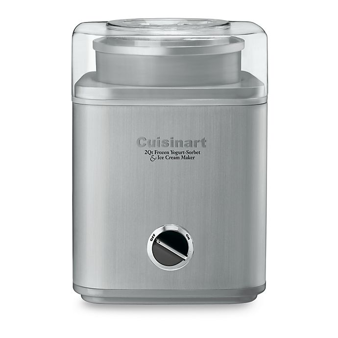Alternate image 1 for Cuisinart® Stainless Steel Electric Ice Cream Maker