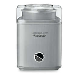Cuisinart® Stainless Steel Electric Ice Cream Maker