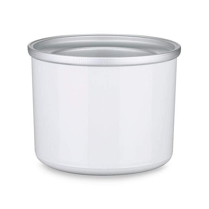 Alternate image 1 for Cuisinart® Automatic Frozen Yogurt Ice Cream and Sorbet 1.5-Quart Replacement Bowl