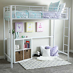 Forest Gate Riley Twin Metal Loft Bed