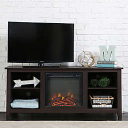 Forest Gate 58 Huntley Traditional Fireplace Wood Tv Stand
