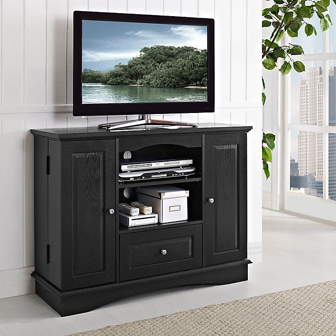 Forest Gate 42 Traditional Wood Tv Stand Bed Bath Beyond