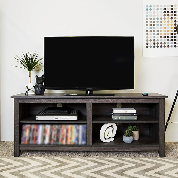 Forest Gate 58 Thomas Traditional Wood Tv Stand Console Bed Bath
