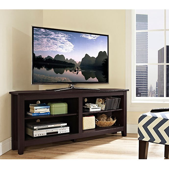 Alternate image 1 for Forest Gate™ Thomas 58-Inch Corner TV Stand