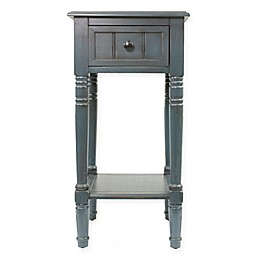 Decor Therapy Simplify 1-Drawer Square Accent Table