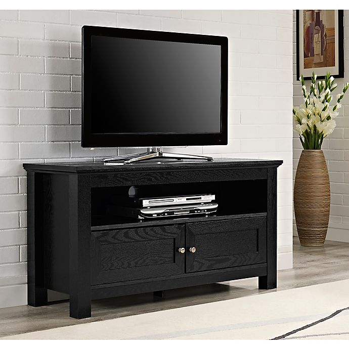 Forest Gate 44 James Traditional Wood Tv Stand Bed Bath Beyond