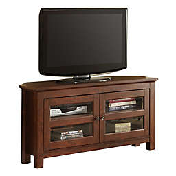 Forest Gate™ Logan 44-Inch Corner TV Stand in Brown