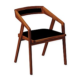 Moe`s Home Collection Upholstered Dining Chair in Black