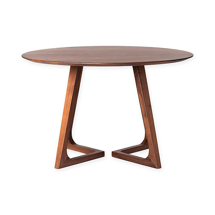 Alternate image 1 for Moe's Home Collection Godenza Walnut Round Dining Table in Brown