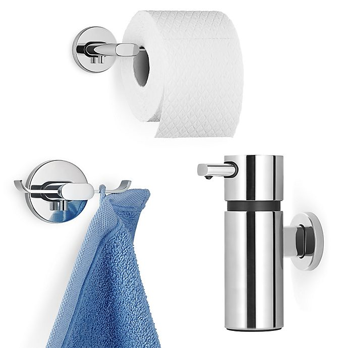 Alternate image 1 for Areo Stainless Steel Bathroom Hardware Collection