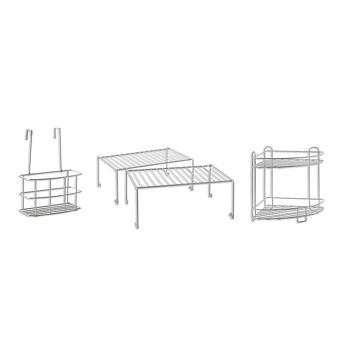 Alternate image 1 for SALT™ 4-Piece Bathroom Cabinet Organization in a Box