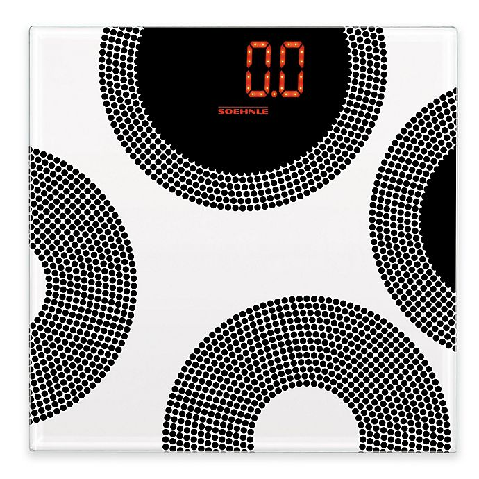 Soehnle Magia Circle Personal Digital Scale Bed Bath And