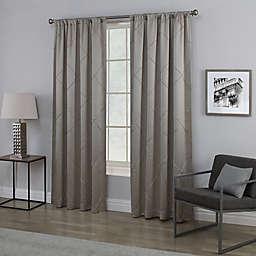 Empress Rod Pocket Window Curtain Panel