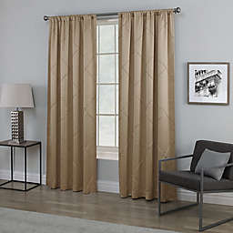Empress Rod Pocket Window Curtain Panel